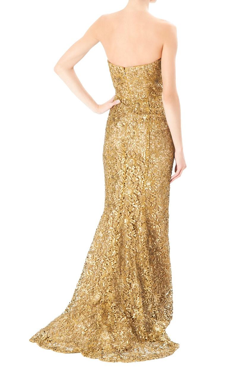 Платье Золото С Доставкой