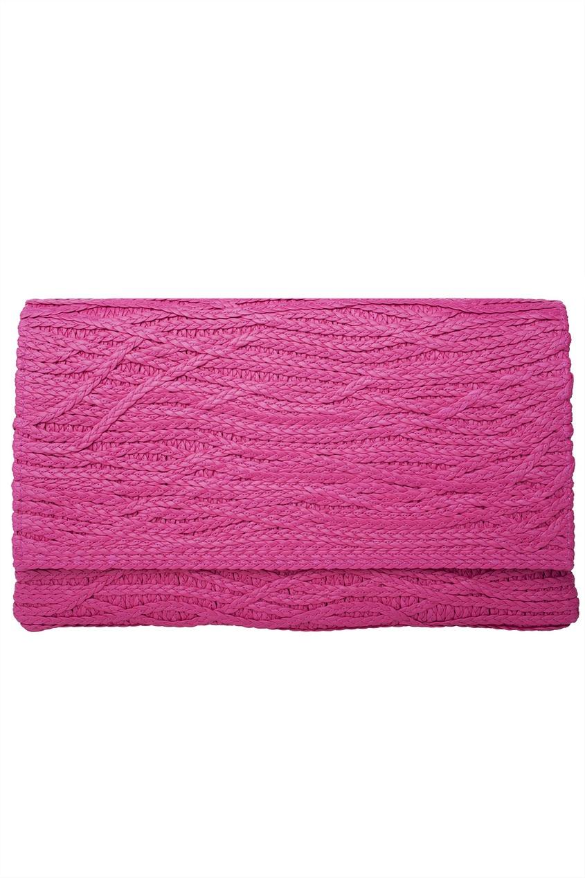 Плетеный клатч-конверт
